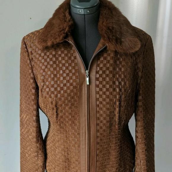Marvin Richards Jackets & Blazers - Marvin Richards Leather Jacket Sz L